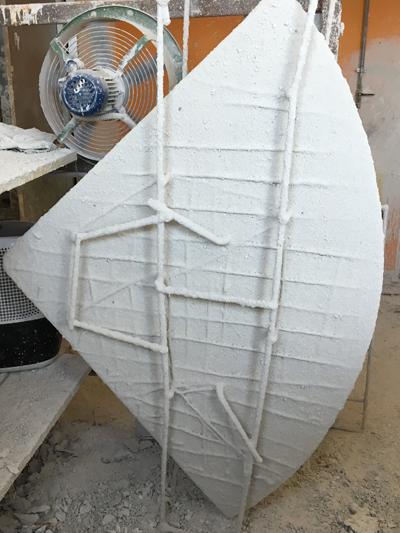 lavorazione bagni ceramica